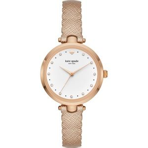 NWT Kate Spade Rose Gold Holland Watch, 34mm